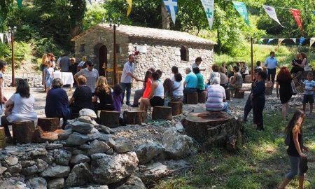 H Νέδουσα γιορτάζει τον Άγιο Παΐσιο