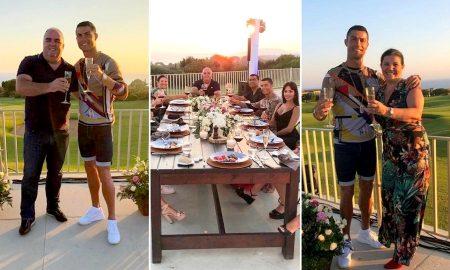 Το αποχαιρετιστήριο γεύμα του Ρονάλντο στην Costa Navarino
