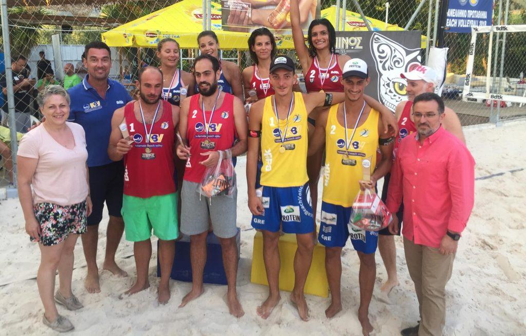 KBV ΣΠΙΝΟΣ open: Όμορφο θέαμα στο πανελλήνιο πρωτάθλημα beach volley