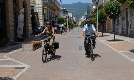 Ηλεκτροκίνητα ποδήλατα απέκτησε η Δημοτική Αστυνομία Καλαμάτας!