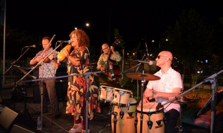 Latin Jazz βραδιά στο προαύλιο του Μεγάρου Χορού Καλαμάτας