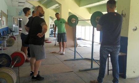 ΠΣ Η ΚΑΛΑΜΑΤΑ: Αυτοψία κι εργασίες στο γυμναστήριο