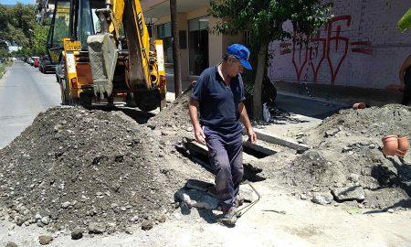 Κλειστό το ένα ρεύμα στην οδό Θεμιστοκλέους λόγω έργων