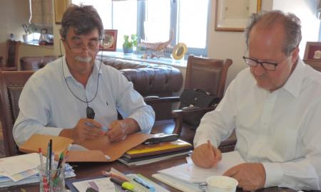 Υπογράφηκε η προγραμματική σύμβαση για την καταπολέμηση των κουνουπιών