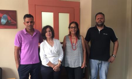 Επίσκεψη Κοζομπόλη στο Κέντρο  Ενημέρωσης  Υποστήριξης Δανειοληπτών Καλαμάτας