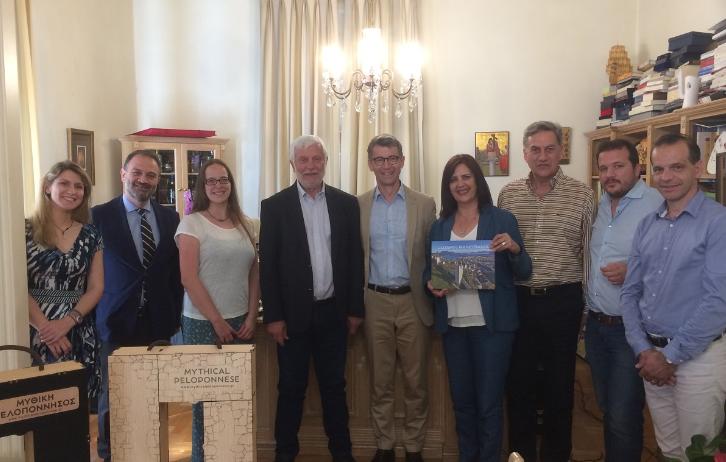 """H Περιφέρεια Πελοποννήσου αναδεικνύεται σε παγκόσμιο πρότυπο αειφόρας ανάπτυξης Τουρισμού"""