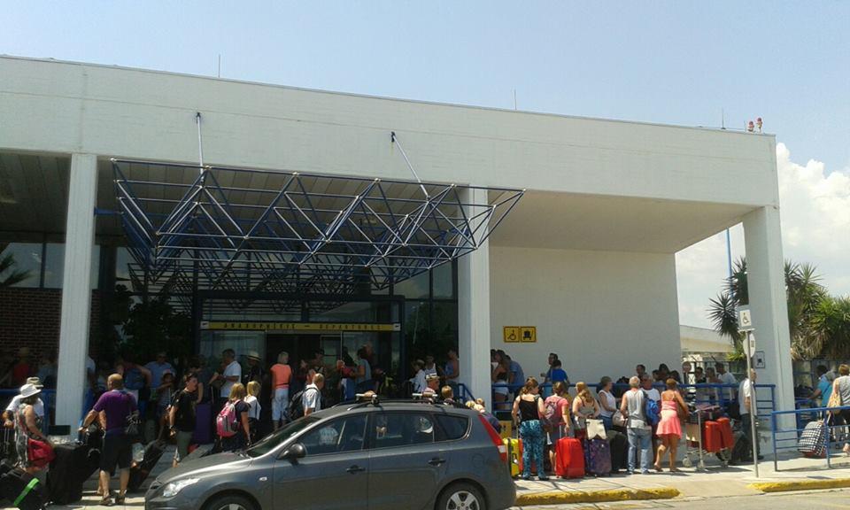Το αδιαχώρητο στο Διεθνές Αεροδρόμιο Καλαμάτας!