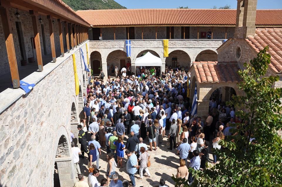 Εγκαίνια στην ανακαινισθείσα Ιερά Μονή Βουλκάνου
