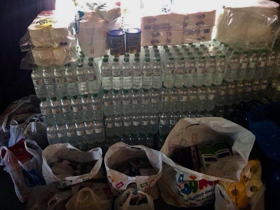 Κεντρικόν: Η δεύτερη παρτίδα βοήθειας πήγε στο Δημοτικό παντοπωλείο