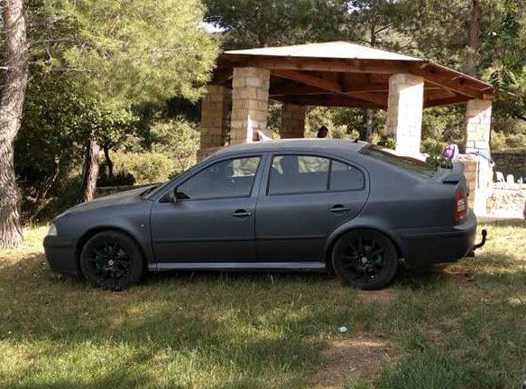 Εκλάπη Skoda Octavia RS