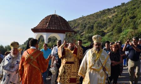 Με λαμπρότητα εορτάστηκε η Κοίμηση της Θεοτόκου στη Μονή Βουλκάνου