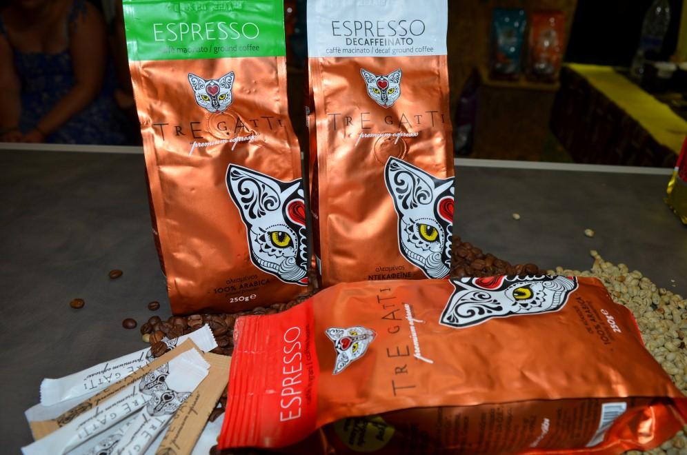 """Νέοι αρωματικοί καφέδες """"ΣΠΙΝΟΣ"""" με μαστίχα, κανέλα ή κάρδαμο"""