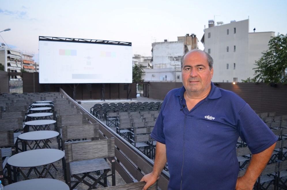 Σας παρουσιάζουμε το νέο θερινό cinema της Καλαμάτας!