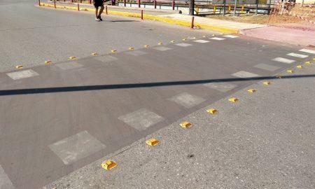 Ποδηλατόδρομος: Ξέβαψε η βαφή πριν παραδοθεί!