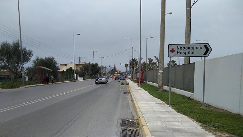 Κυκλοφοριακές ρυθμίσεις από 1η Σεπτεμβρίου στην περιοχή του Νοσοκομείου Καλαμάτας λόγω των αντιπλημμυρικών-Τι αλλάζει