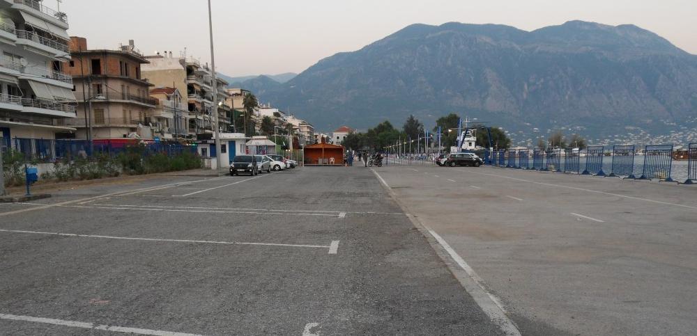 Εκτός λειτουργίας Κυριακή και Δευτέρα το πάρκινγκ στο Λιμάνι Καλαμάτας