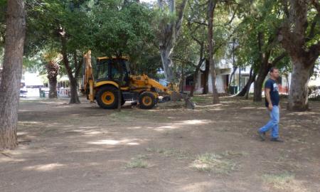 Ξεκίνησε ο καθαρισμός πάρκων και αλσυλλίων από εργάτες του Δασαρχείου Καλαμάτας