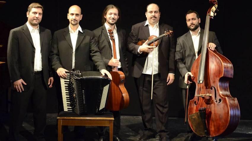 """Συλλογή Ελληνικών Ενδυμασιών """"Βικ.Γ. Καρέλια"""": Συναυλία με το Athens Tango Ensemble"""