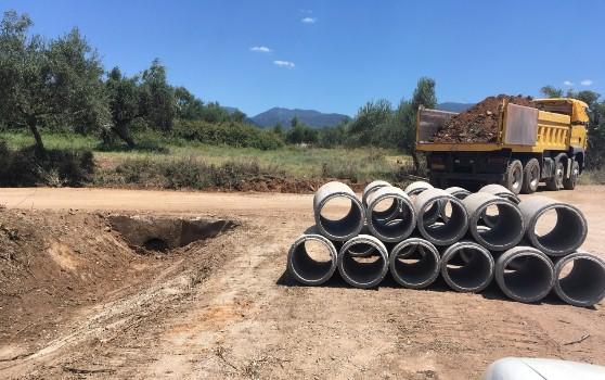 Συνεχίζονται τα έργα στο Δήμο Μεσσήνης