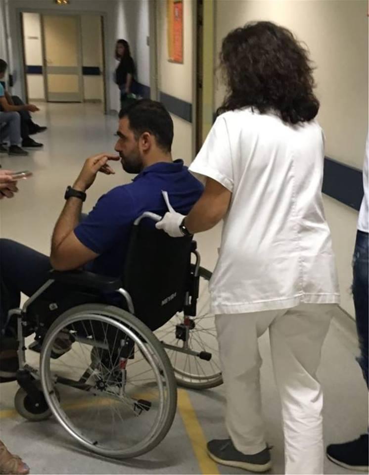 Οκτώ συλλήψεις για τον ξυλοδαρμό του βουλευτή Κωνσταντινέα