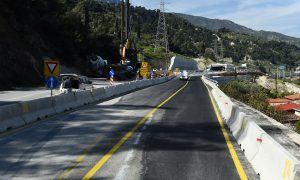 Κλειστή η νέα Εθνική Οδός Αθηνών – Κορίνθου λόγω έργων
