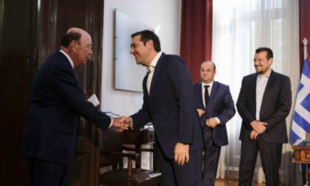Τσίπρας: Αφήνουμε πίσω μας την κρίση – Ρος: Οι ΗΠΑ στηρίζουν την Ελλάδα