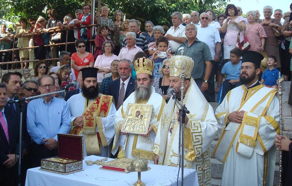 Η εικόνα της Παναγίας Βουλκανιώτισσας στη Μεσσήνη για 9 ημέρες