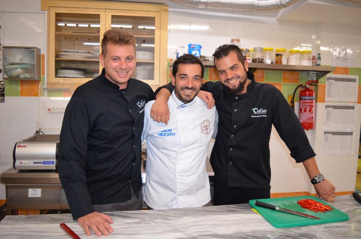 ΙΙΕΚ Ορίζων: Εκπαιδευτείτε από τη Dream Team της Μαγειρικής-Ζαχαροπλαστικής
