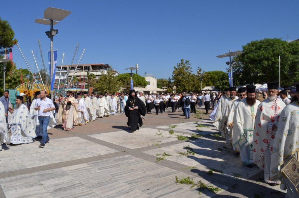 Η Παναγία ενθρονίστηκε στην πόλη της Μεσσήνης