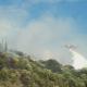 Υπό μερικό έλεγχο η φωτιά στον Αετό Τριφυλίας