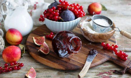 Πεντανόστιμη μαρμελάδα σύκο χωρίς ζάχαρη