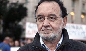 Δίωξη κατά Λαφαζάνη «με το μισό ποινικό κώδικα» για τις κινητοποιήσεις κατά των πλειστηριασμών
