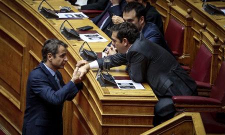 Δημοσκόπηση ΣΚΑΪ: Διψήφιο προβάδισμα ΝΔ, μουρμούρα ΣΥΡΙΖΑ για τους ΑΝΕΛ