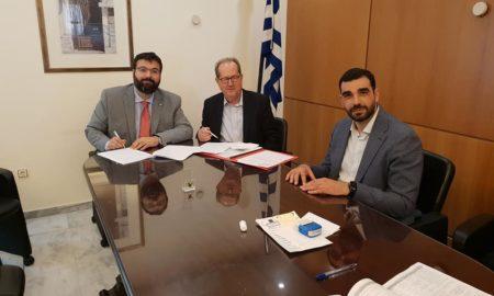 Υπογράφηκε η προγραμματική σύμβαση για νέο ταρτάν στο Δημοτικό Στάδιο