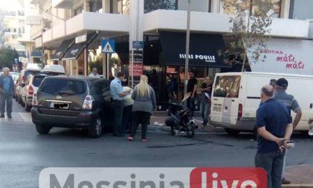 Τραυματισμός ντελιβερά σε τροχαίο στο κέντρο της Καλαμάτας