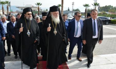 """Αρχιεπίσκοπος Ιερώνυμος: """"Ο κ.Θέμελης είναι πρότυπο για όλους μας"""""""