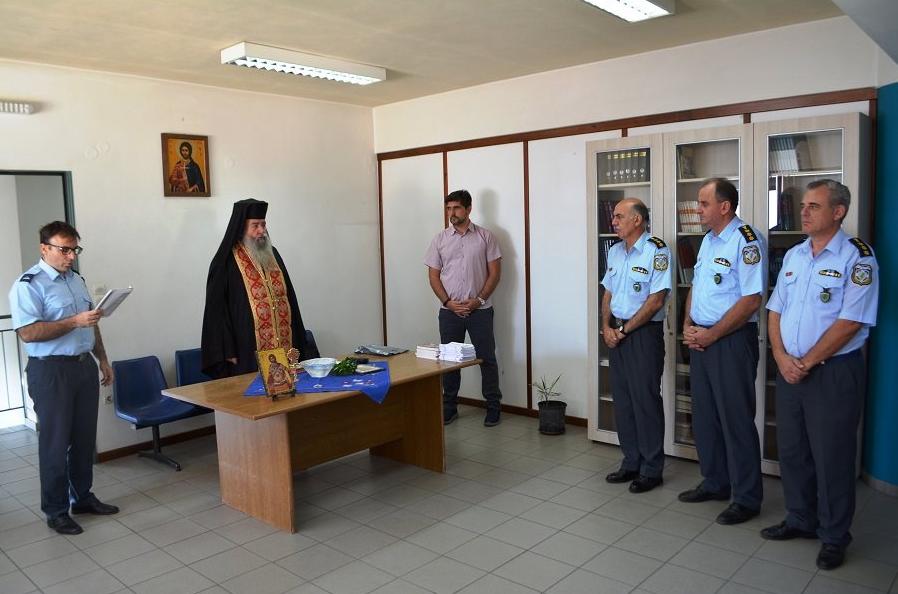 Αγιασμός και ομιλίες στις Αστυνομικές Διευθύνσεις Μεσσηνίας-Λακωνίας