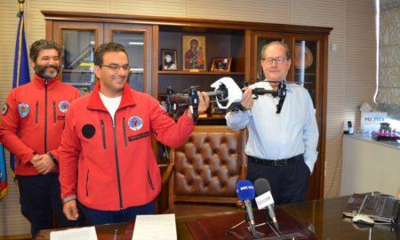 «Ελληνική Ομάδα Διάσωσης – Παράρτημα Μεσσηνίας»: Αναλαμβάνει δράση το drone