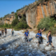 Oι πεζοπόροι του Ευκλή στο Φαράγγι του Βυρού και τα καλντερίμια της Καρδαμύλης