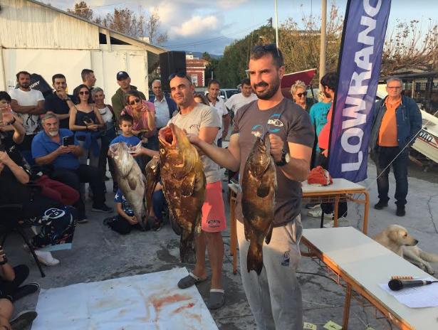 Πανελλήνιο Πρωτάθλημα Yποβρύχιας Αλιείας: Σχεδόν 100 κιλά ψάρια η πρώτη μέρα