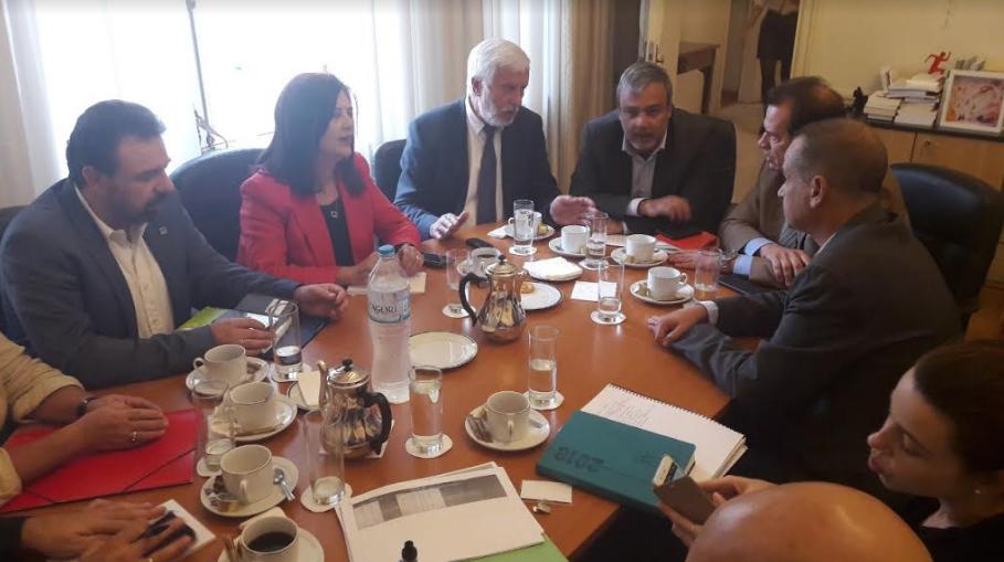 Συνάντηση Βερναρδάκη-Τατούλη για τον απολογισμό των δράσεων του Περιφερειακού Συνεδρίου