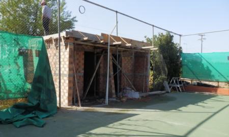 Σε ένα μήνα ολοκληρώνονται WC και αποδυτήρια για ΑμεΑ στο γήπεδο Τένις της Νέδοντος