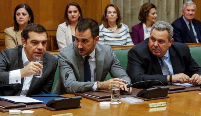 Ο Τσίπρας καλεί και τους υπουργούς των ΑΝΕΛ να δεσμευτούν ότι δε θα στηρίξουν πρόταση μομφής της ΝΔ