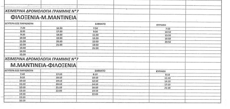 Αστικό ΚΤΕΛ Καλαμάτας: 27.000 παραπάνω εισιτήρια το φετινό καλοκαίρι λόγω της γραμμής Φιλοξένια-Μαντίνεια