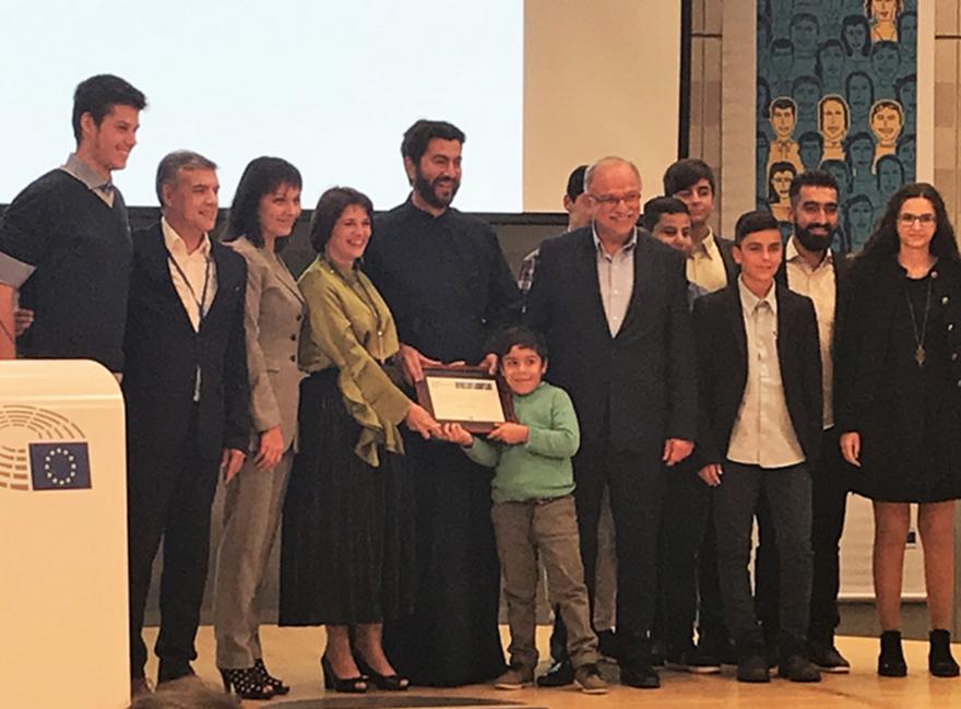 Ο πατέρας Αντώνιος είναι ο «Ευρωπαίος Πολίτης» για το 2018