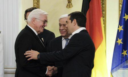 Σταϊνμάιερ: Η Γερμανία υποστηρίζει την Ελλάδα στην Ευρωζώνη – Θα είμαστε στο πλευρό σας