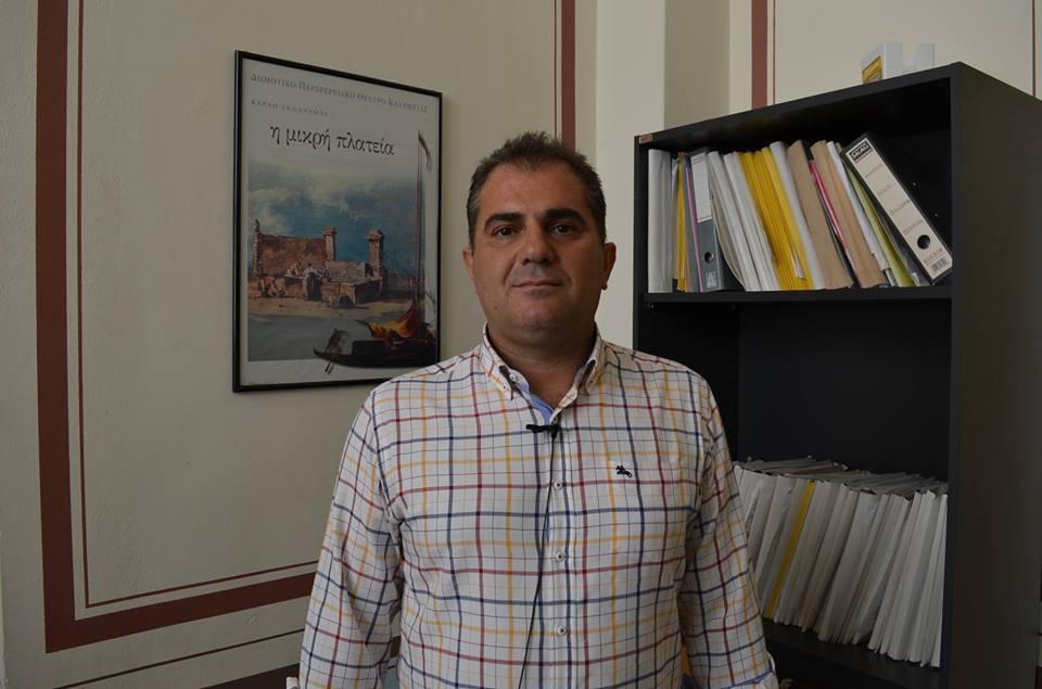 Υποψήφιος Δήμαρχος Καλαμάτας ο Θανάσης Βασιλόπουλος