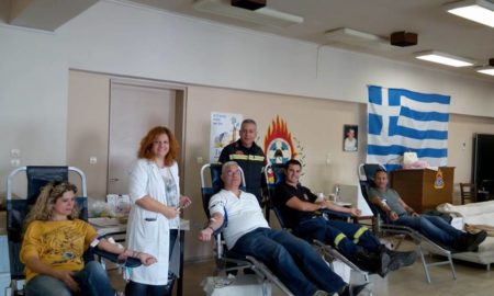 Πυροσβεστική Καλαμάτας: 23 μονάδες αίματος συγκεντρώθηκαν από την εθελοντική αιμοδοσία