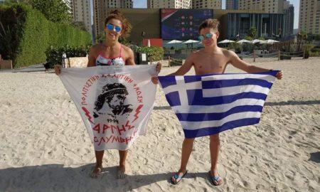 """Στο Παγκόσμιο πρωτάθλημα """"Oceanman Dubai"""" Τσακάκου κι Αθανασουλάκης!"""