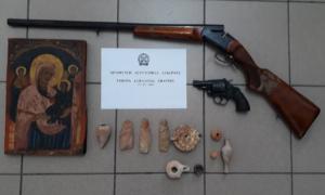 Συνελήφθη 59χρονος αρχαιοκάπηλος-Τι εντόπισε η αστυνομία στο σπίτι του